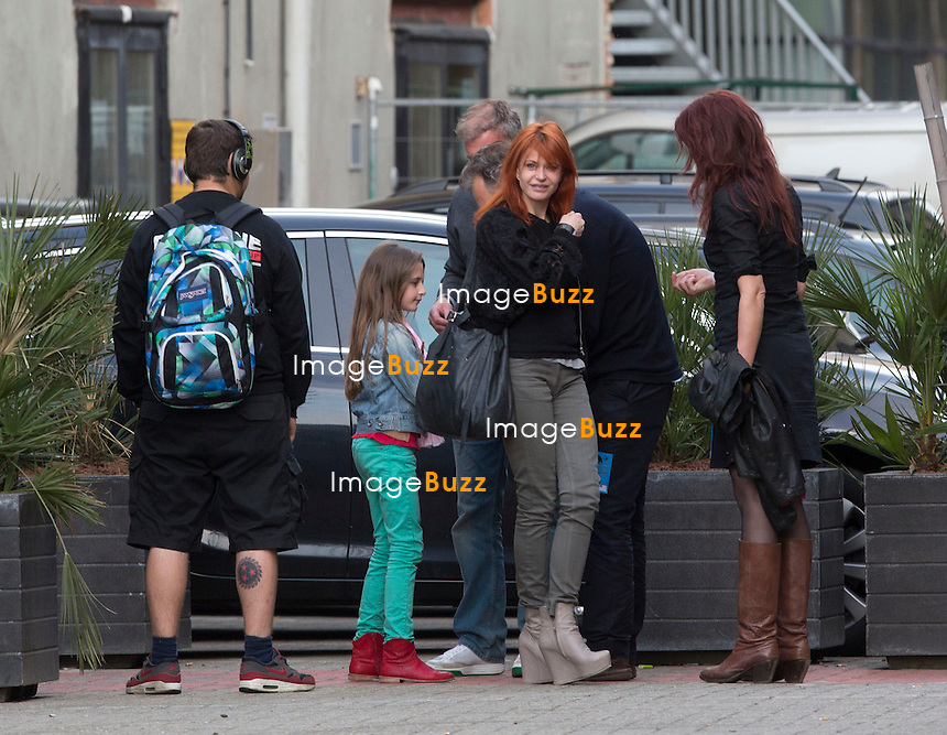 Singer Axelle Red and family attend Beyonce's concert in Antwerp, Belgium. Beyonce returned to the stage in Antwerp on May 15th after postponing her concert the day before..The superstar singer fueled rumors she was pregnant with baby No. 2 after canceling her Tuesday concert due to dehydration and exhaustion..Beyonce is reportedly pregnant with her second child, according to the New York Daily News on May 17, 2013..