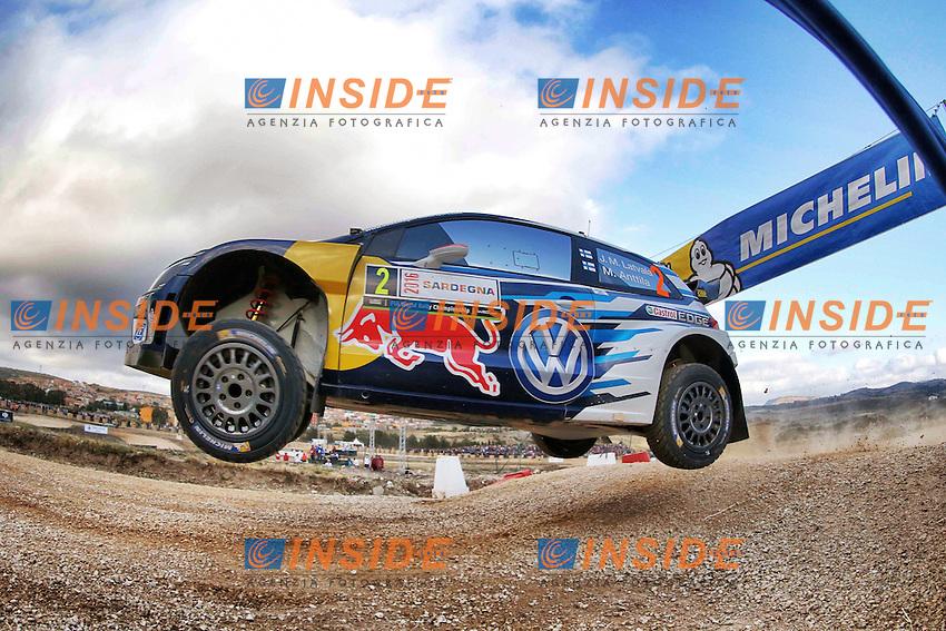 Jari-Matti Latvala (FIN)- Mikka Antilla (FIN) - Volkswagen Polo WRC <br /> Rally di Sardegna 2016 <br /> Foto Lavadinho / Panoramic / Insidefoto
