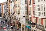 Calle de la Paloma Street, Burgos, Spain