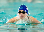 Northcrest's Sarah Hansen competes in the 100 yard IM race during the 53rd annual Country Club Swimming Championships on Tuesday, Aug. 7, 2012, in Kearns, Utah. (© 2012 Douglas C. Pizac)