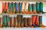 Jordan Valley Big Loop Rodeo..Colorful cowboy boots on display for sale