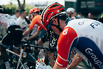 Cooling down after a very hot day in the saddle at the end of Stage 16 of the 2019 Tour de France running 177km from Nimes to Nimes, France. 23rd July 2019.<br /> Picture: ASO/Thomas Maheux | Cyclefile<br /> All photos usage must carry mandatory copyright credit (© Cyclefile | ASO/Thomas Maheux)
