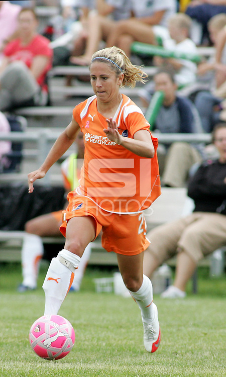 Kacey White..Saint Louis Athletica defeated Sky Blue FC 1-0 at Anheuser-Busch Soccer Park, Fenton, Missouri.