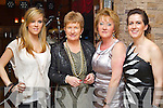 Pictured at the Official Launch of Herbs & Roses by C Spa at the Carlton Hotel on Thursday evening were, from left: Ellen Griffin (Castlegregory), Mary Lane (Valentia), Mary Griffin (Castlegregory) and Áine Collins (Tralee) .