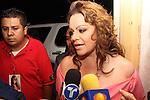 Jenny Rivera el el palenque de la Expogan de Hermosillo Sonora...(nortephoto@gmail.com )(C.Marquez/NortePhoto)