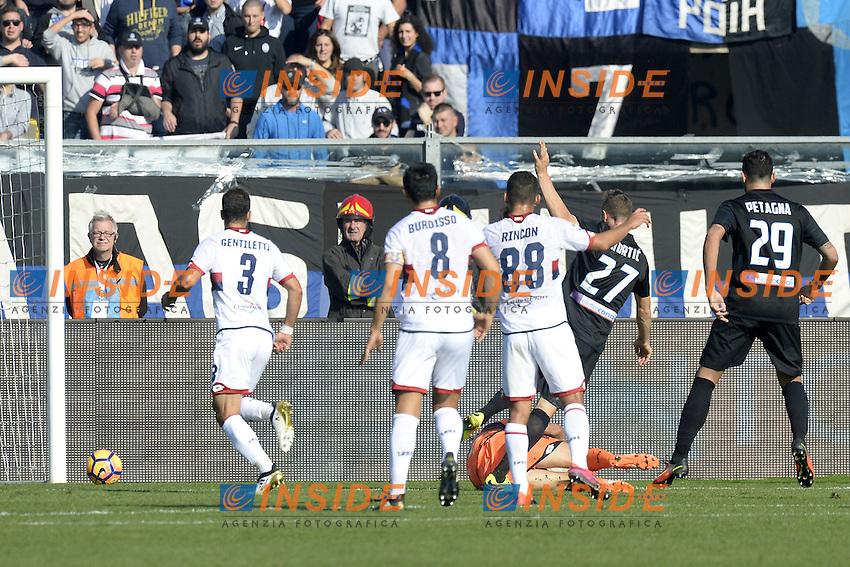 Bergamo 30-10-2016 - Football campionato di calcio serie A / Atalanta - Genoa / foto Daniele Buffa/Image Sport/Insidefoto  gol Jasmin Kurtic