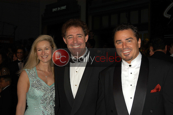 Barry Williams and Christopher Knight