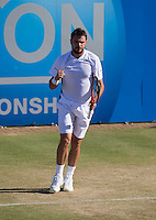 STANISLAS WAWRINKA (SUI)<br /> <br /> Aegon Championships 2014 - Queens Club -  London - UK -  ATP - ITF - 2014  - Great Britain -  13th June 2014. <br /> <br /> &copy; AMN IMAGES