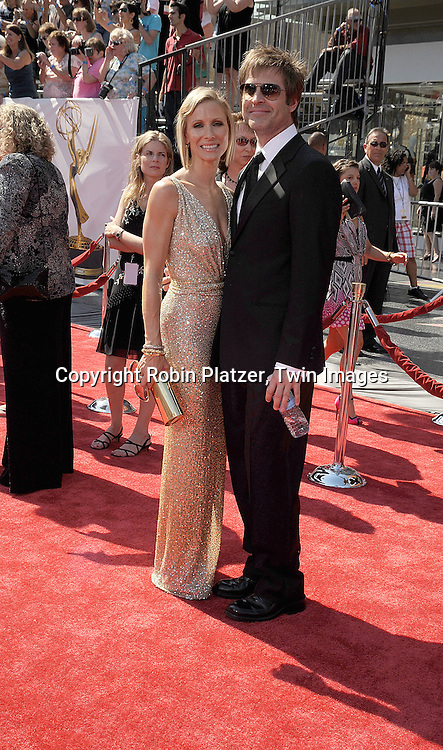 Kelley Menighan Hensley and husband John Hensley..at The 35th Annual Daytime Entertainment Emmy Awards at The Kodak Theatre on June 20, 2008 in Hollywood California.....Robin Platzer, Twin Images