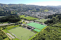 General view of the National Hockey Stadium, National Hockey League preview, National Hockey Stadium, Wellington, New Zealand. Friday 15 September 2018. Photo: Simon Watts/www.bwmedia.co.nz/Hockey NZ