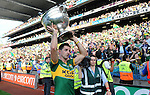 Aidan o'Mahony celebrate in the All-Ireland Football Final  in Croke Park 2014.<br /> Photo: Don MacMonagle<br /> <br /> <br /> Photo: Don MacMonagle <br /> e: info@macmonagle.com
