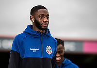 Bolton Wanderers' Muhammadu Faal pictured before the match  <br /> <br /> Photographer Andrew Kearns/CameraSport<br /> <br /> The EFL Sky Bet League One - Rochdale v Bolton Wanderers - Saturday 11th January 2020 - Spotland Stadium - Rochdale<br /> <br /> World Copyright © 2020 CameraSport. All rights reserved. 43 Linden Ave. Countesthorpe. Leicester. England. LE8 5PG - Tel: +44 (0) 116 277 4147 - admin@camerasport.com - www.camerasport.com