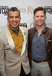 Sergio Trujillo and Jack Noseworthy attends the Chita Rivera Awards at NYU Skirball Center on May 19, 2019 in New York City.