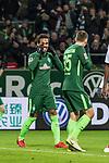 11.02.2018, Weserstadion, Bremen, GER, 1.FBL, SV Werder Bremen vs VfL Wolfsburg<br /> <br /> im Bild<br /> Theodor Gebre Selassie (Werder Bremen #23), Maximilian Eggestein (Werder Bremen #35), &auml;rgert sich &uuml;ber vergebene Torchance, <br /> <br /> Foto &copy; nordphoto / Ewert