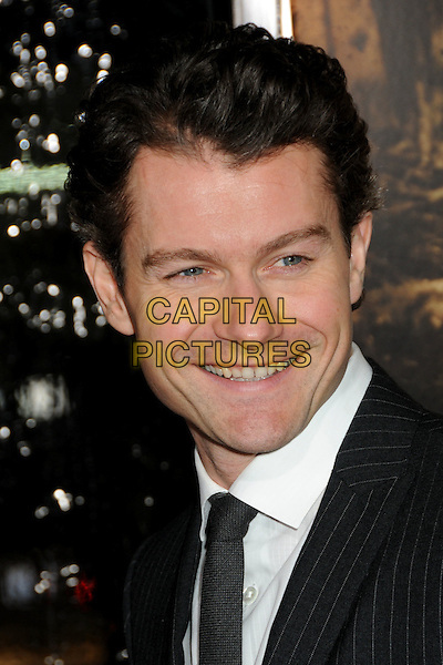 """JAMES BADGE DALE.HBO's """"The Pacific"""" Mini-Series Premiere held at Grauman's Chinese Theatre, Hollywood, California, USA..February 24th, 2010.headshot portrait white black pinstripe .CAP/ADM/BP.©Byron Purvis/AdMedia/Capital Pictures."""