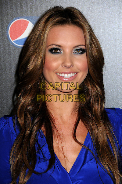 AUDRINA PATRIDGE.Auto Club Speedway Celebrates the Pepsi 500 Hosted by Jeff Gordon held at the Roosevelt Hotel, Hollywood, California, USA..October 7th, 2009.headshot portrait blue eyeliner eyeshadow make-up smiling beauty .CAP/ADM/BP.©Byron Purvis/AdMedia/Capital Pictures.
