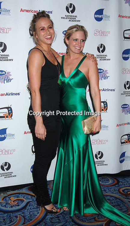 As The World Turns Jennifer Landon and Terri Colombino ..arriving to The 33rd Annual Daytime Emmy  Creative Arts Awards on April 22, 2006 at the Marriott Marquis Hotel in New York. ..Robin Platzer, Twin Images