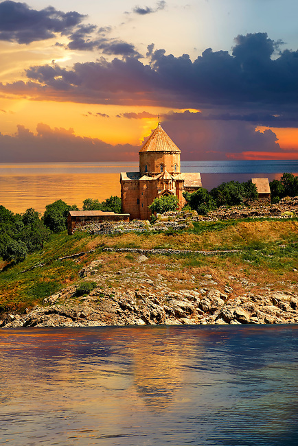 10th century Armenian Orthodox Cathedral of the Holy Cross on Akdamar Island, Lake Van Turkey 50