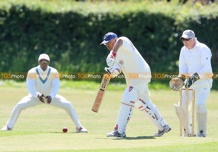 M Emmanuel in batting action for Hornchurch Athletic - Noak Hill Taverners CC vs Hornchurch Athletic CC 2nd XI - Lords Internatioanl Cricket League - 30/05/09 - MANDATORY CREDIT: Gavin Ellis/TGSPHOTO - Self billing applies where appropriate - 0845 094 6026 - contact@tgsphoto.co.uk - NO UNPAID USE.