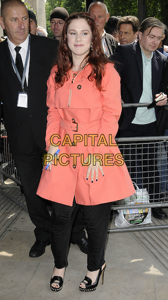KATY B.The Ivor Novello Awards 2011, Grosvenor House Hotel, London, England..May 19th, 2011.full length peach pink coral jacket black trousers .CAP/CAN.©Can Nguyen/Capital Pictures.