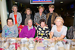 Probus Scotia Tralee enjoying a Night at the dogs in the Kingdom Greyhound Stadium on Friday. Pictured Front Front l-r Colette Quinn, Ann Barrett, Carmel Roche, Cora Roche.  Back l-r Kay O'Connor, Helen Collins, Kay O'Connor, Kay O'Donnell.