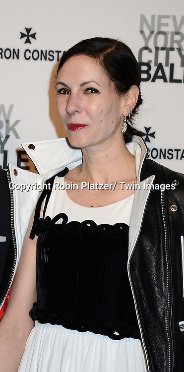 Jill Kargman attends the New York City Ballet Spring 2014 Gala on May 8, 2014 at David Koch Theatre in Lincoln Center in New York City, NY, USA.