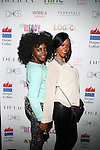 "Marie Theodore aka MarieDriven PR and Tashera Simmons Attend Wendy Williams celebrates the launch of her new book ""Ask Wendy"" by HarperCollins and her new Broadway role as Matron ""Mama"" Morton in Chicago - Held at Pink Elephant, NY"