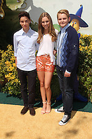 Teo Halm, Ella Wahlestedt, Reese C. Hartwig<br /> at the &quot;Legends of Oz: Dorothy's Return&quot; Los Angeles Premiere, Village Theater, Westwood, CA 05-04-14<br /> David Edwards/Dailyceleb.com 818-249-4998