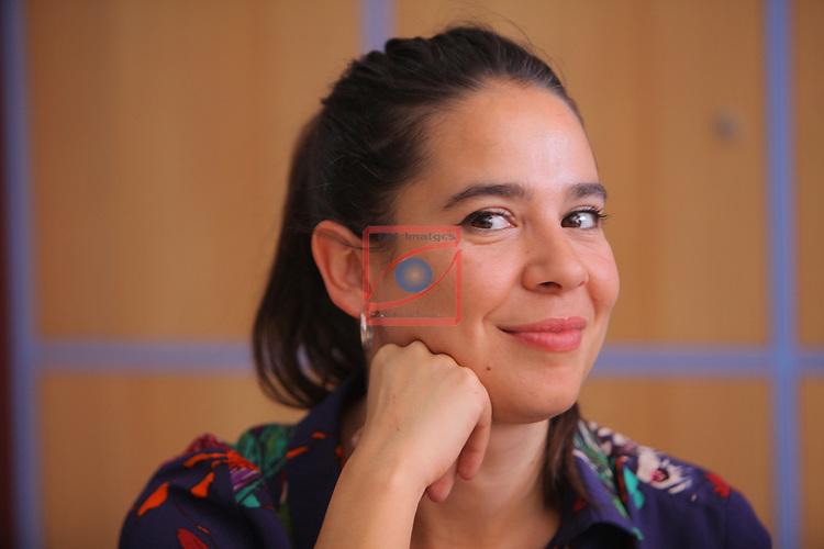 Visita Rodatge Merli. 3a temporada.<br /> Carlota Olcina.