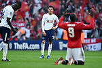 A dejected Dele Alli of Tottenham Hotspur at the end of the FA cup semi-final match at Wembley Stadium, London. Picture date 21st April, 2018. Picture credit should read: Robin Parker/Sportimage