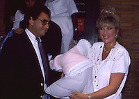 Joan Lunden & Newborn Baby 1987 By Jonathan<br />