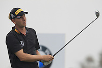 Marcel Siem (GER) tees off the 2nd tee during Thursday's Round 1 of the 2014 BMW Masters held at Lake Malaren, Shanghai, China 30th October 2014.<br /> Picture: Eoin Clarke www.golffile.ie