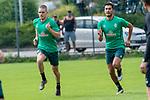 05.07.2019, Parkstadion, Zell am Ziller, AUT, TL Werder Bremen - Tag 01<br /> <br /> im Bild / picture shows <br /> <br /> Laufuebungen / Sprintuebungen<br /> Nuri Sahin (Werder Bremen #17)<br /> David Philipp (Werder Bremen #31)<br /> <br /> <br /> Foto © nordphoto / Kokenge