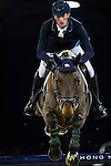Daniel Deusser on Hidalgo V competes during the Airbus Trophy at the Longines Masters of Hong Kong on 20 February 2016 at the Asia World Expo in Hong Kong, China. Photo by Juan Manuel Serrano / Power Sport Images