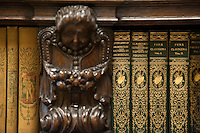 Detail, Mary Norton Clapp Library, Occidental College, July 22, 2009.  (Photo by Marc Campos, Occidental College Photographer)