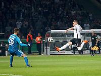 19.05.2018, Olympiastadium, Berlin, GER, DFB-Pokal, Finale FC Bayern Muenchen vs Eintracht Frankfurt<br /> , <br />Ante Rebic (Frankfurt) scores goal  2:1 *** Local Caption *** © pixathlon<br /> Contact: +49-40-22 63 02 60 , info@pixathlon.de