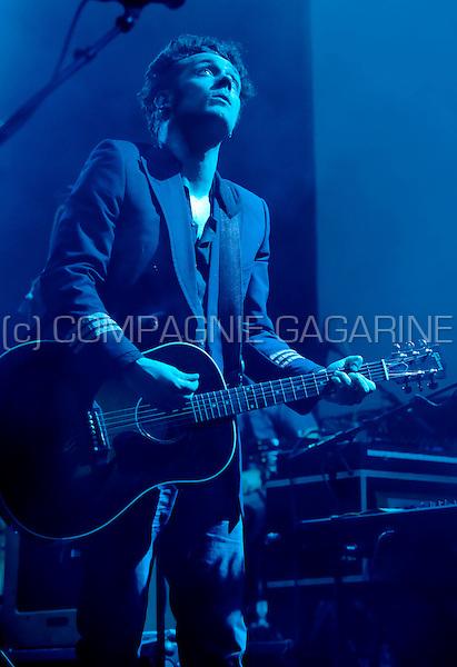 Belgian rock band Broken Glass Heroes at the De Nachten festival in Antwerp (Belgium, 05/11/2010)
