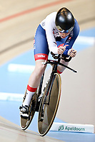 Picture by SWpix.com - 03/03/2018 - Cycling - 2018 UCI Track Cycling World Championships, Day 4 - Omnisport, Apeldoorn, Netherlands - Women's Individual Pursuit - Ellie Dickinson of great Britain
