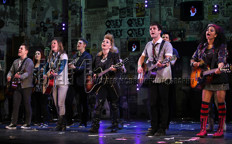 "Melissa Etheridge Joins the Broadway Cast Of ""American Idiot""  at the St. James Theatre in New York City."