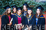 Elaine Finneran, Sinead Keane, Karen O'Sullivan, Shauna Hartnett (Cork) with Sarah Carroll (Killarney, Kerry) and Siobhan O'Connell (Cork), who graduated in General Nursing from IT, Tralee on Friday morning last, at the Brandon Conference Centre, Tralee.
