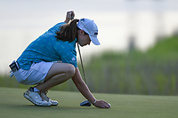 Leona Maguire (IRL) looks over her putt on 10 during round 2 of the 2019 US Women's Open, Charleston Country Club, Charleston, South Carolina,  USA. 5/31/2019.<br /> Picture: Golffile | Ken Murray<br /> <br /> All photo usage must carry mandatory copyright credit (© Golffile | Ken Murray)