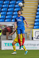 Andrew Hughes of Peterborough United during the Sky Bet League 1 match between Peterborough and Oxford United at the ABAX Stadium, London Road, Peterborough, England on 30 September 2017. Photo by David Horn.