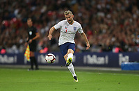 England's Luke Shaw<br /> <br /> Photographer Rob Newell/CameraSport<br /> <br /> UEFA Nations League - League A - Group 4 - England v Spain - Saturday September 8th 2018 - Wembley Stadium - London<br /> <br /> World Copyright &copy; 2018 CameraSport. All rights reserved. 43 Linden Ave. Countesthorpe. Leicester. England. LE8 5PG - Tel: +44 (0) 116 277 4147 - admin@camerasport.com - www.camerasport.com