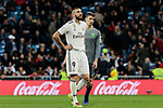 Real Madrid's Karim Benzema during La Liga match between Real Madrid and Real Sociedad at Santiago Bernabeu Stadium in Madrid, Spain. January 06, 2019. (ALTERPHOTOS/A. Perez Meca)<br />  (ALTERPHOTOS/A. Perez Meca)