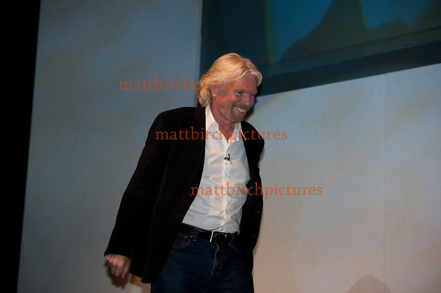 Sir Richard Branson VIP guest speaker at 02 business 2012
