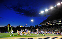 Sept. 5, 2009; Seattle, WA, USA; Overall view during the game between the Washington Huskies against the LSU Tigers at Husky Stadium. Mandatory Credit: Mark J. Rebilas-