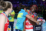 29/10/17 Fast5 2017<br /> Fast 5 Netball World Series<br /> Hisense Arena Melbourne<br /> Grand Final Jamaica v England<br /> <br /> Ama Agbeze<br /> <br /> <br /> <br /> <br /> Photo: Grant Treeby