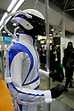 Flexible Sensor Tube on Motoman poses at the International Robot Exhibition in Tokyo on November 27, 2009. Some 200 robot companies and institutes exhibit their latest robot technologies at a four-day exhibition (photo Laurent Benchana/Nippon News)..