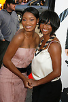 """HOLLYWOOD, CA. - April 14: Keke Palmer and Monique Coleman arrive at the premiere of Warner Bros. """"17 Again"""" held at Grauman's Chinese Theatre on April 14, 2009 in Hollywood, California."""