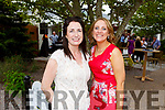 Lisa Herilhy and Mary Mulvihill who organised the Dairymaster 50th Anniversary BBQ in the Ballygarry Hotel on Sunday.